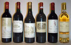 Купажи вин Бордо